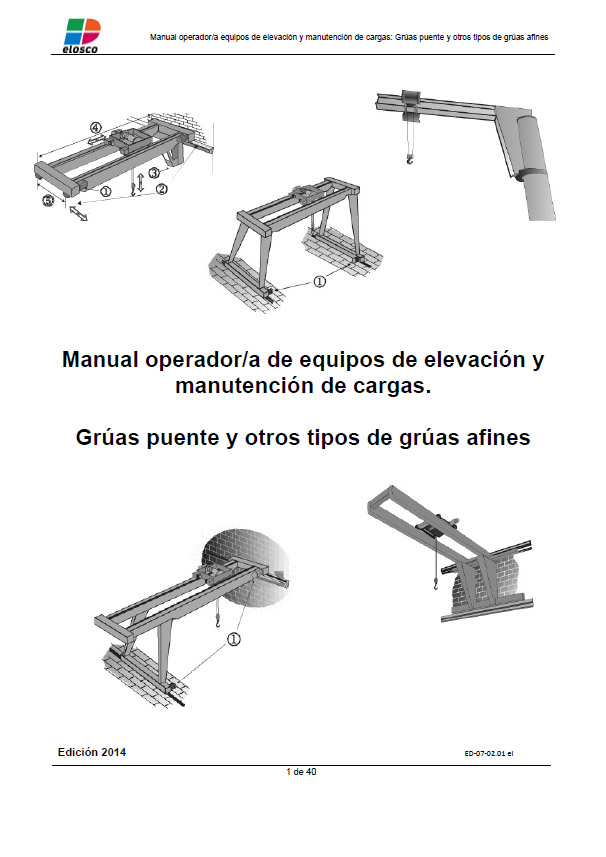 Manual Operador Grua Puente